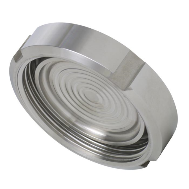 WIKA 990.51 Sterile Connection Diaphragm Seal