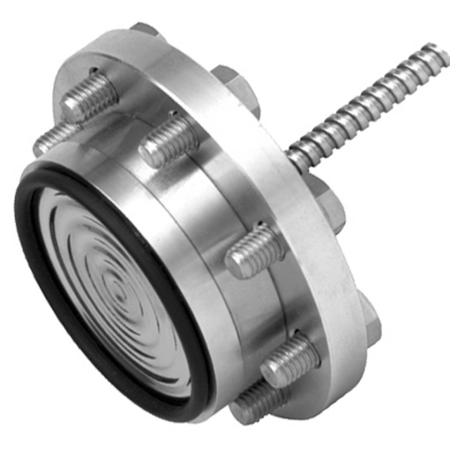 WIKA 990.15 Flanged Process Connection Diaphragm Seal.png