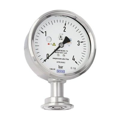 WIKA PG43SA-D Diaphragm Pressure Gauge