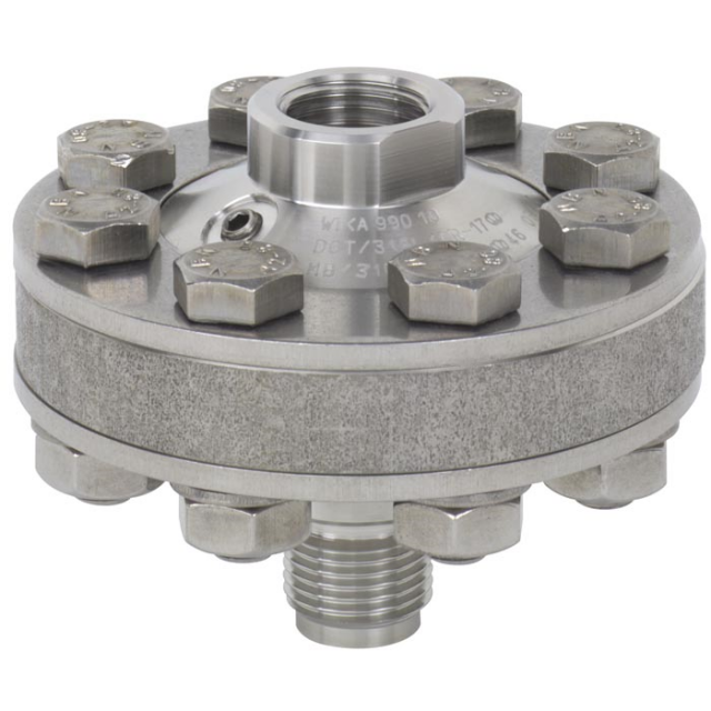 990.10 Threaded Connection Diaphragm Seal