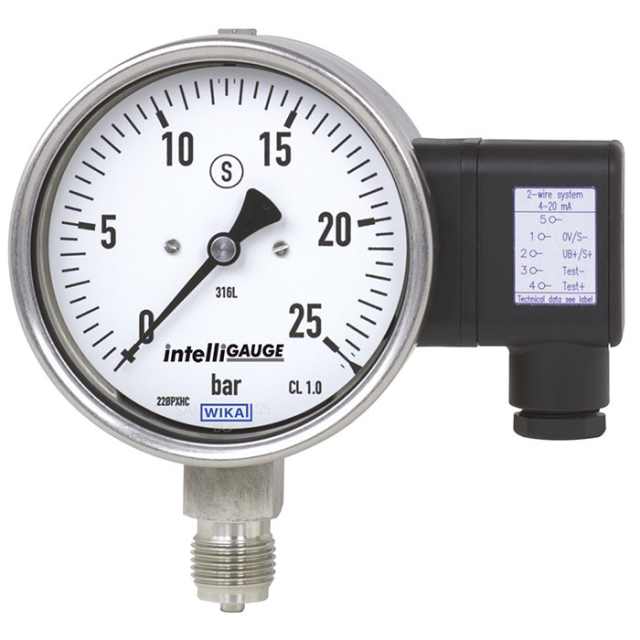 PGT23.100-23.160 Pressure Gauges with Electrical Output Signal