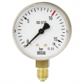 WIKA 111.11 Bourdon Tube Pressure Gauge