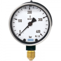 WIKA 213.40 Bourdon Tube Pressure Gauge