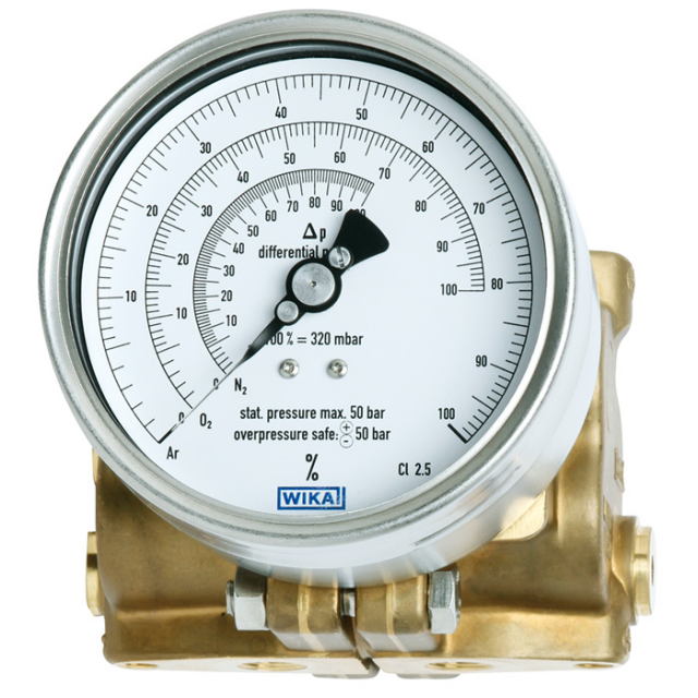WIKA 712.15.100 Differential Pressure Gauge