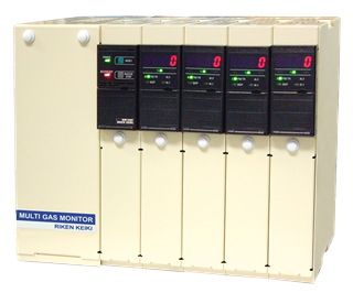 Riken_Keiki_RM-590_Multi-channel_Gas_Monitoring_System