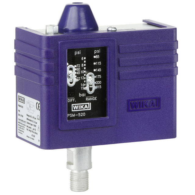 WIKA_PSM-520_Pressure_Switch