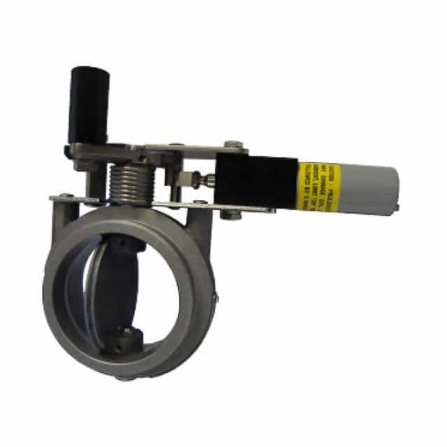 AMOT 4261D Air Intake Shut-off Butterfly Valve