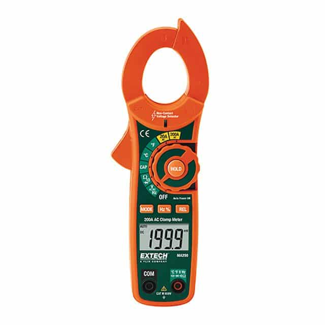 Extech-MA250-200A-AC-Clamp-Meter-+-NCV