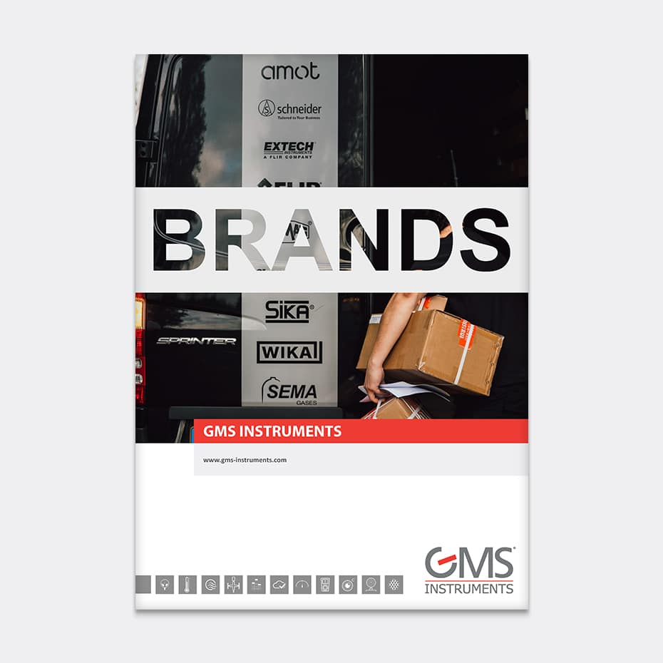 GMS Instruments Brand Guide Cover