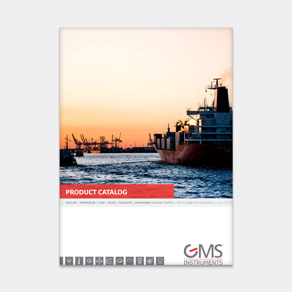 GMS Instruments Catalog Cover