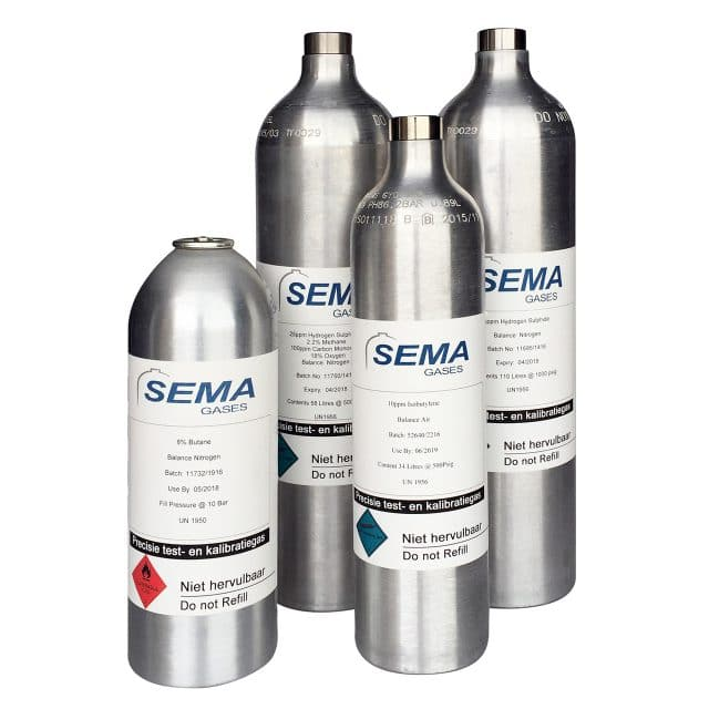 SEMA_Gases_Calibration_gas_Test_gas
