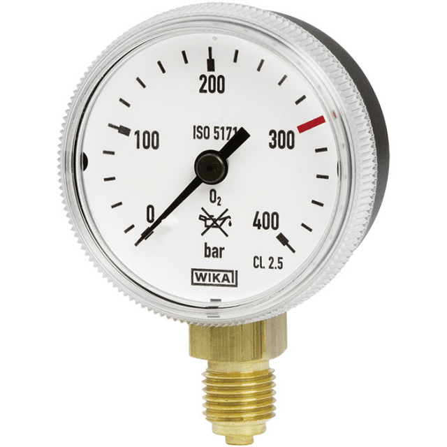 WIKA 111.31 Bourdon Tube Pressure Gauge