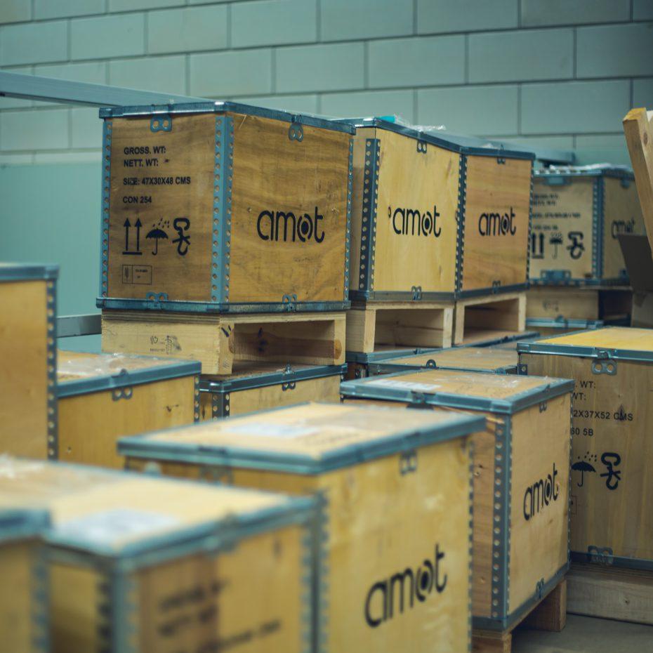 GMS-Instruments AMOT valve box