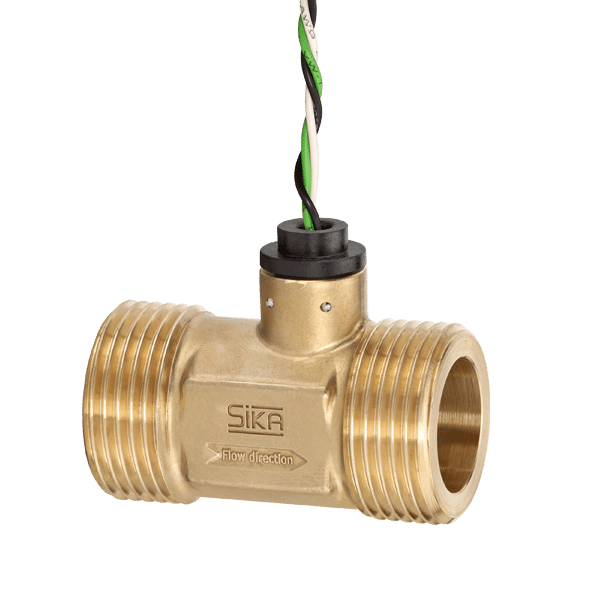 SIKA_VTY20_Turbine_Flow_Sensor