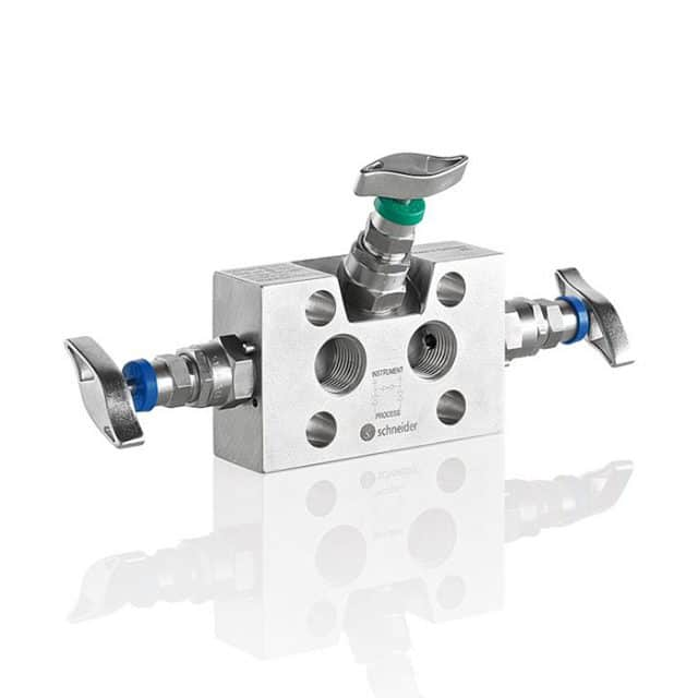 AS-Schneider-Type-W3AA-W3BA-3-Valve-Manifolds