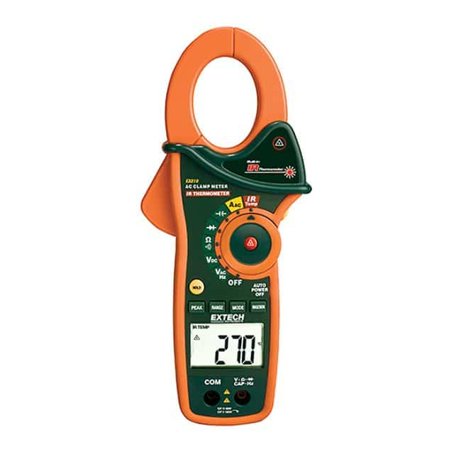 Extech-EX810-1000A-AC-Clamp-Meter-+-IR-Thermometer