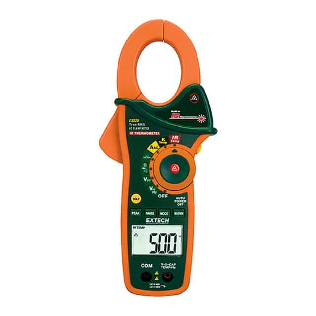 Extech-EX820-1000A-True-RMS-AC-Clamp-Meter-+-IR-Thermometer