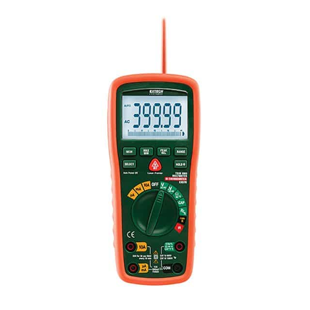 Extech-EX570-Industrial-Multimeter+IR-Thermometer
